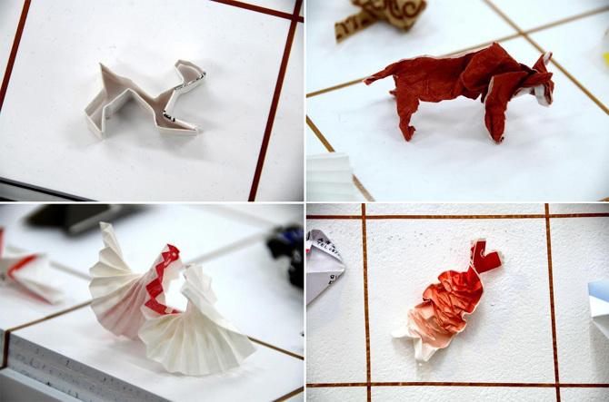 Lampada Origami Di Edward Chew : Arte: japanese tip di yuki tatsumi origami di carta come mancia