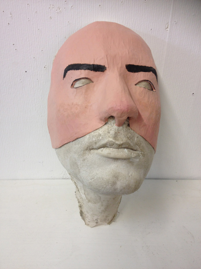 a mask of my own face richard shields art works